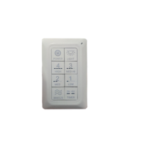 Secure Wireless Mesh Switch 8 Segment Wall or Remote